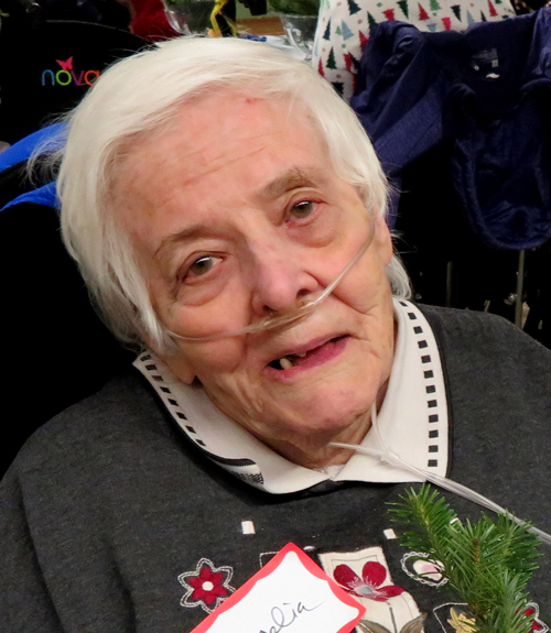 Cecilia, age 94, resident for 57 years