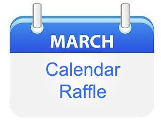 March 1-31, 2021 Calendar Raffle