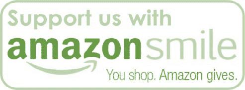 Amazon Smile logo with text green