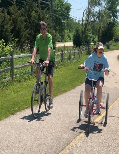 Walkathon - bikers