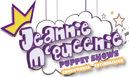 Jeannie McQueenie Puppet Show logo